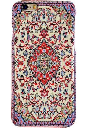 Carpet Case iPhone 6/6S Akronium El Yapımı Kilim Desenli Kumaş Dokuma Arka Kapak