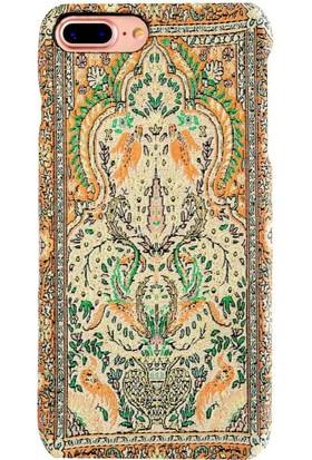 Carpet Case iPhone 7 Plus/8 Plus Doliche El Yapımı Kilim Desenli Kumaş Dokuma Arka Kapak
