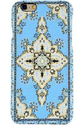 Carpet Case iPhone 6/6S Selçuk El Yapımı Kilim Desenli Kumaş Dokuma Arka Kapak