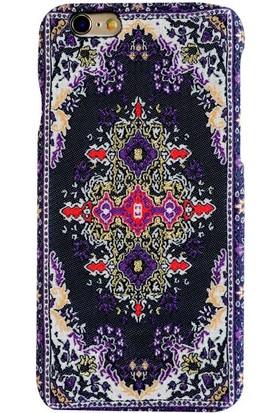 Carpet Case iPhone 6/6S Anavarza El Yapımı Kilim Desenli Kumaş Dokuma Arka Kapak