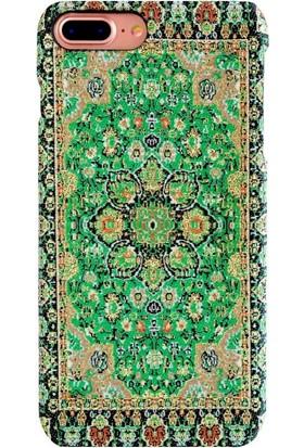 Carpet Case iPhone 7 Plus/8 Plus Fenike El Yapımı Kilim Desenli Kumaş Dokuma Arka Kapak
