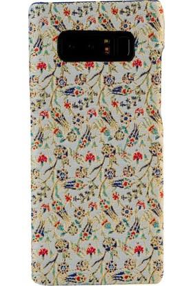 Carpet Case Samsung Galaxy Note 8 Berceste El Yapımı Kilim Desenli Kumaş Dokuma Arka Kapak