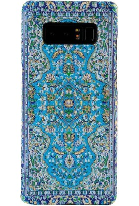 Carpet Case Samsung Galaxy Note 8 Safranbolu El Yapımı Kilim Desenli Dokuma Arka Kapak
