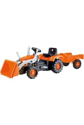 Dolu 8052 Römorklu Kepçeli Traktör Sarı