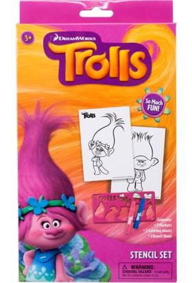 Trolls Geometrik Çizim Seti