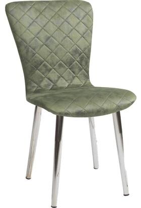 Blackstone Yeşil Mutfak - Salon - Balkon - Oturma Odası Sandalyesi
