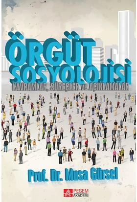 Örgüt Sosyolojisi (Kavramlar, Süreçler Ve Açıklamalar) - Musa Gürsel