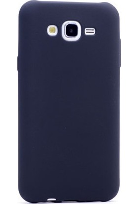 Happyshop Samsung Galaxy J7 Duo Kılıf Ultra İnce Mat Silikon+Cam Ekran Koruyucu