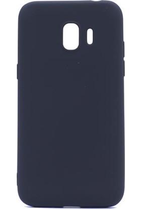 Happyshop Samsung Galaxy J4 2018 Kılıf Ultra İnce Mat Silikon+Nano Cam Ekran Koruyucu
