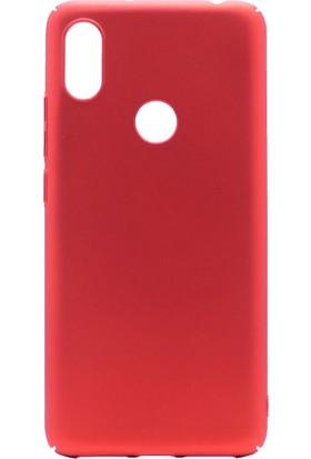 Happyshop Xiaomi Mi 8 Kılıf İnce Sert Arka Kapak+Cam Ekran Koruyucu