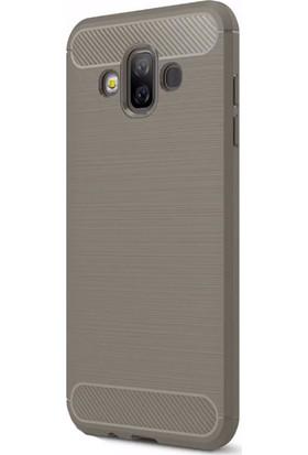 Happyshop Samsung Galaxy J7 Duo Kılıf Ultra Korumalı Room Silikon+Nano Cam Ekran Koruyucu