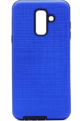 Happyshop Samsung Galaxy A6 2018 Kılıf Ultra Korumalı New Youyou Silikon+Nano Cam Ekran Koruyucu