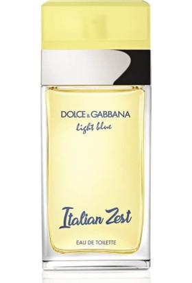 Dolce Gabbana Light Blue Italian Zest Edt 100 ml Kadın Parfümü