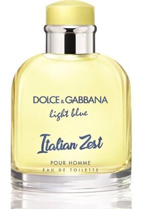 Dolce & Gabbana Light Blue Pour Homme Italian Zest Edt 75 ml Erkek Parfümü