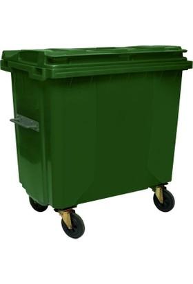 Ayaz 7739 Eko 660 Lt Plastik Çöp Konteyner Yeşil