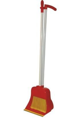 Ayaz 7580 Plastik Fırçalı Lüks Faraş Kırmızı