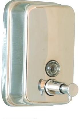 Ayaz 7254P Paslanmaz Sıvı Sabunluk 1 Litre Parlak