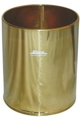 Arı Metal 1439 Pirinç Çöp Kovası 5 Litre