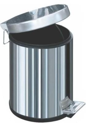 Arı Metal 1001 Pedallı Çöp Kovası 3 Litre