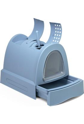 İmac Zuma Kedi Kapalı Tuvalet Kabı