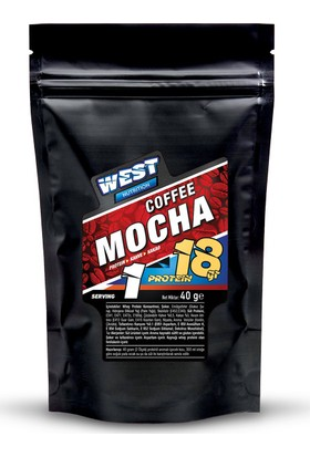 West Nutrition Proteinli Mocha Kahve 40 Gr