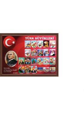 Aymi 70X100 Mdf Çerçeve Türk Büyükleri