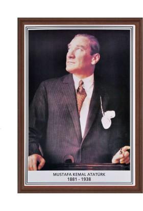 Aymi 35X50 Mdf Çerçeve Atatürk Potresi