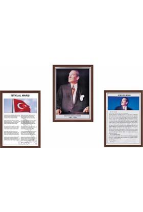 Aymi 50X70 Mdf Çerçeve Milli Levha Seti