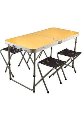 Praseat Kamp Masası, Katlanır Piknik Masası