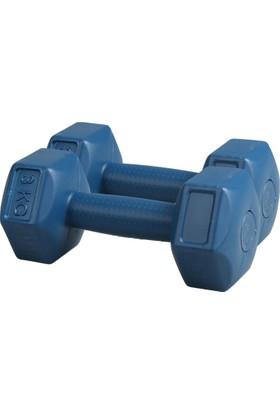 Liveup Mavi Dambıllar Ve Ağırlık Setleri Lv570-300 Dambıl Set
