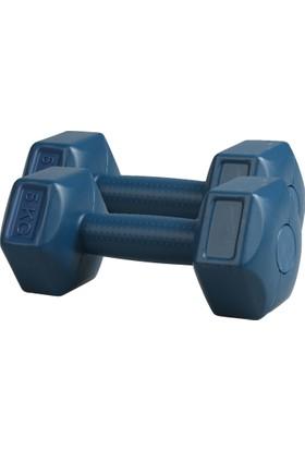 Liveup Mavi Dambıllar Ve Ağırlık Setleri Lv570-500 Dambıl Set