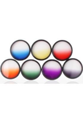 Dhd Nikon 18-55Mm Lens İçin Gradual Degrade Kademeli 7 Li Efekt Filtre Seti