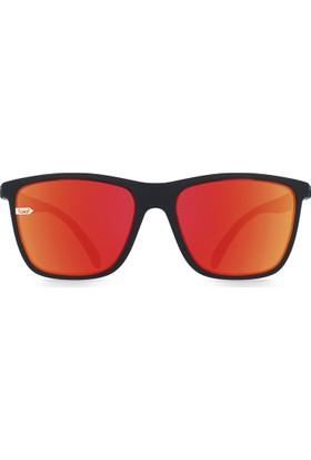 GloryFy Stratos Anthracite F3 Red Mirror Kırılmaz Güneş Gözlüğü
