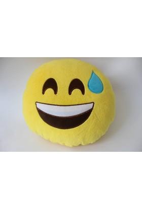 Emoji Yastık Q 35 x 15Cm