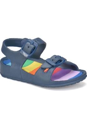 Kinetix Nalı Lacivert Erkek Çocuk Sandalet