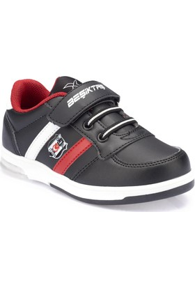 Bjk Upton Pu Bjk Siyah Beyaz Kırmızı Erkek Çocuk Sneaker Ayakkabı