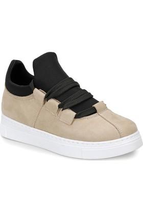 Butigo Dona07Z Bej Kadın Sneaker Ayakkabı