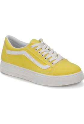 Butigo Milagros51Z Sarı Kadın Sneaker Ayakkabı
