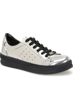 Butigo Z218 Antrasit Kadın Sneaker Ayakkabı