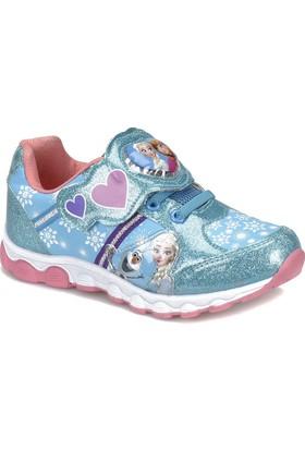 Frozen Helya-1 Mavi Kız Çocuk Ayakkabı Ayakkabı