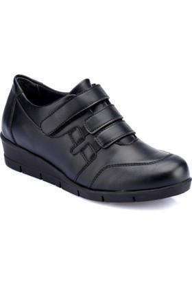 Polaris 82.158061.Z Siyah Kadın Ayakkabı