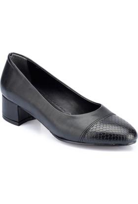 Polaris 82.312082.Z Siyah Kadın Gova Ayakkabı