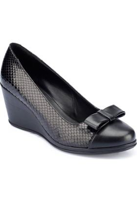 Polaris 82.312129.Z Siyah Kadın Sandalet
