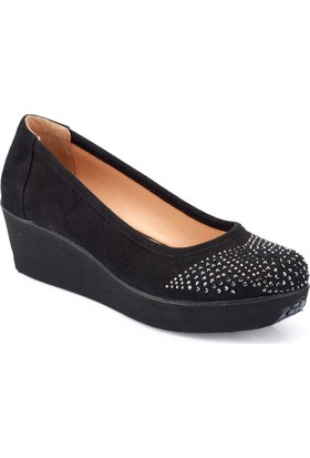 Polaris 82.312136.Z Siyah Kadın Sandalet