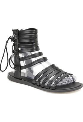 Art Bella Cs18083 Siyah Kadın Sandalet 400