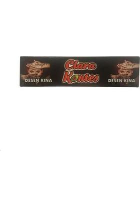 Clare Kontes Dövme Desenli Kızıl Hint Kınası