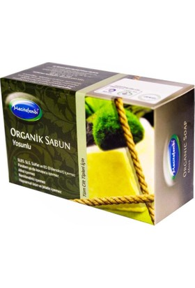 Mecitefendi Yosunlu Sabun 125 gr Organik