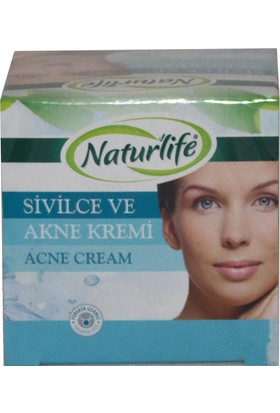 Naturlife Sivilce ve Akne Kremi 50 ml