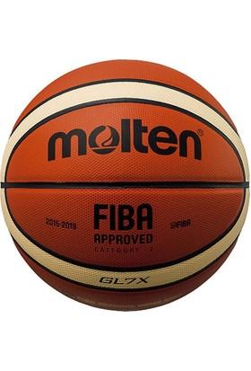Molten Gl7X Fiba Onaylı Deri Basketbol Maç Topu