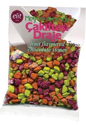 Elit Çakıltaşı Meyveli Çikolata 200Gr